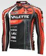 【VALETTE/バレット】SPEEDII FORCE (スピード2フォース) 長袖ジャージ VALETTE A-LINE【サイクルジャージ/サイクルウェア/自転車/レプリカ/サイクル/ロードバイク/ウェア/ユニフォーム/ランニングウェア/フィットネスウェア】