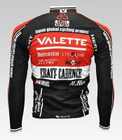 【VALETTE/バレット】SPEED(スピード)RED(レッド)長袖VALETTEA-LINE【サイクルジャージ/サイクルウェア/自転車/レプリカ/サイクル/ロードバイク/ウェア/ユニフォーム/ランニングウェア/フィットネスウェア】