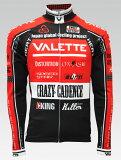 【VALETTE/バレット】SPEED (スピード)RED(レッド) ウインタージャージ VALETTE A-LINE【サイクルジャージ/サイクルウェア/自転車/レプリカ/サイクル/ロードバイク/ウェア/ユニフォーム/ランニングウェア/フィットネスウェア】
