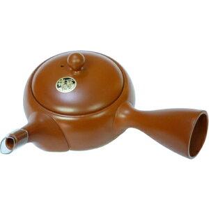 ◆なべしま銘茶常滑焼製急須【茶色】◆