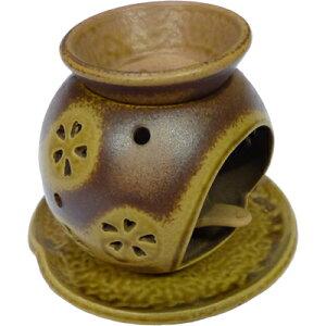 ◆なべしま銘茶茶香炉【茶色】◆