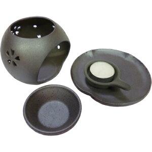 ◆なべしま銘茶茶香炉【黒色】◆