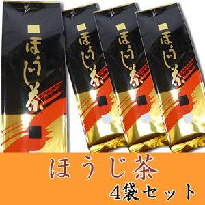 【送料無料】◆なべしま銘茶【上】ほうじ茶100g×4袋◆