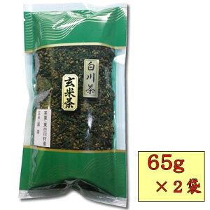 白川茶玄米茶100g