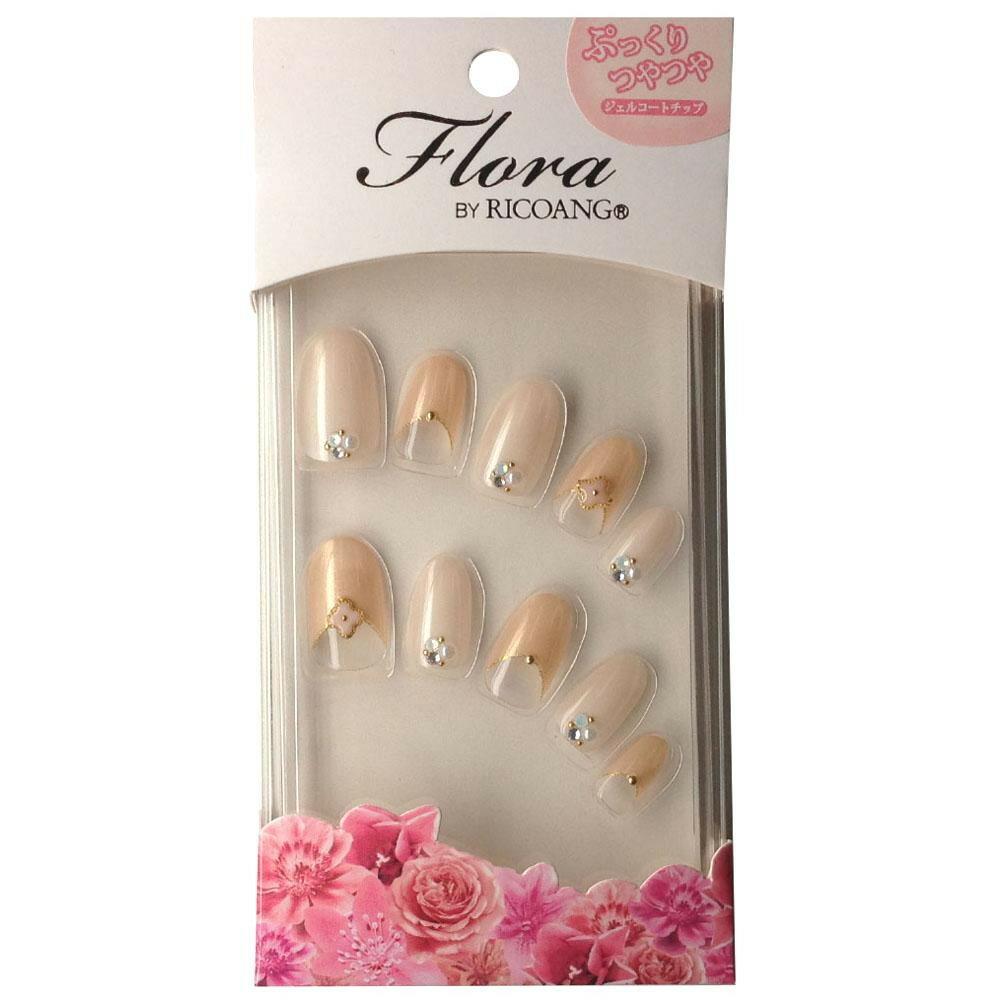 ネイル, ネイルチップ  ricoAng Flora-003