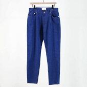 【WELLDERウェルダー】One-Tack&Five-PocketsTaperedTrousersBLUEスラックスメンズ男性