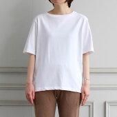 【2020S/S】【unfilアンフィルレディース】ORGANICCOTTONJERSEYBASICTEEWHITEレディース女性トップスTシャツ