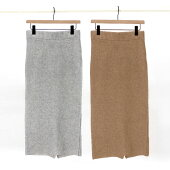 【ADAWASアダワス】PACHWORKKNITSKIRTニットタイトスカートスカートパッチワークニットレディース女性
