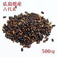 広島県産黒米