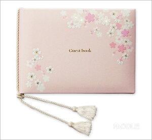 結婚式のアイテム。レストランウェディングやオリジナルウェディングに。人気の桜柄のゲストブ...