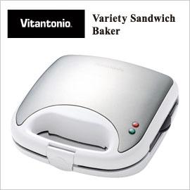【Vitantonio ビタントニオ】 バラエティサンドベーカーVSW-450-W 楽しくホットサンド・ワ...