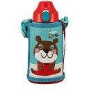 タイガー ステンレスボトル 「コロボックル」 2WAY (0.6L) MBR-C06GGA アニー