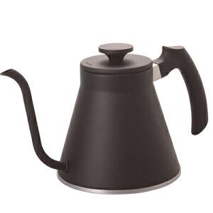 HARIO ハリオ V60 ドリップケトル・フィット VKF-120-MB 800ml コーヒーケトル やかん IH/ガス両方対応 珈琲王コーヒーメーカー ギフト プレゼント VKF120MB プレゼント ギフト