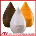 アピックス 超音波式アロマ加湿器SHIZUKU AHD−010ホワイト/モカブラウン/オレンジ