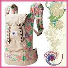 【ERGObabyエルゴベビー】スタンダードハイビスカスCREG20101赤ちゃんの肌にやさしいコットンを100%使用したエルゴベビーのベビーキャリア
