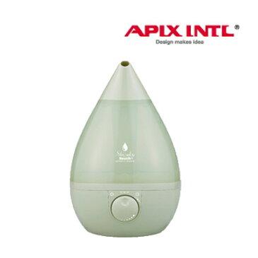 【送料無料】アピックスしずく型加湿器  超音波式アロマ加湿器 SHIZUKU touch+ AHD-018(RG) APIX レトログリーン  加湿機