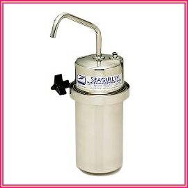 ■送料無料■【予約販売】シーガルフォー X-2DS カウンター据置タイプ浄水器 簡単に取り付け可...