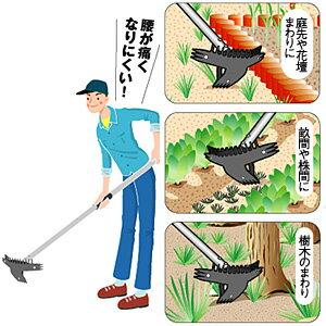 簡単!楽々!能率UP!草抜き器 日本直販でも大人気!スーパーマルチホーク 草ヌッキー