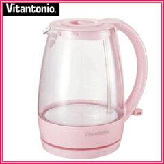 ■送料無料■【Vitantonio ビタントニオ】ガラスケトル ピンク VEK-600-P 2011年春限定カラー...
