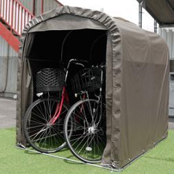 6月下旬頃 メーカー直送の為代引き不可 ■■代引不可■サイクルハウスSH2-SB自転車収納・簡易物置・自転車置場に最適