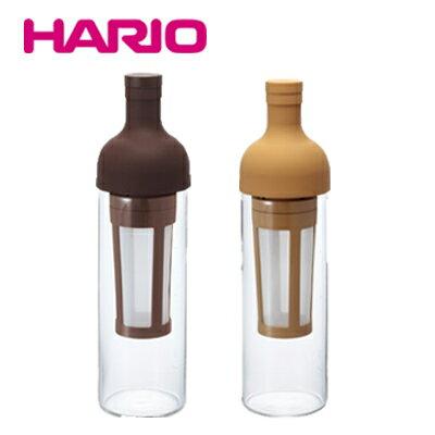 人気! HARIO ハリオ フィルターインコーヒーボトル FIC-70-MC/CBR コーヒー 水出しコーヒー コールドブリュー フィルターインボトル 珈琲