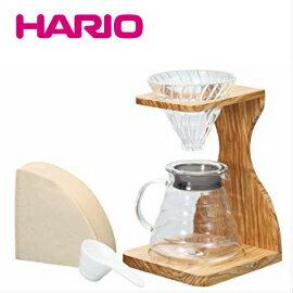 ■送料無料■大人気! HARIO ハリオ V60 オリーブウッドスタンドセット VSS-1206-OV ドリップスタンド コーヒーケトル やかん 珈琲王コーヒーメーカー 父の日 ギフト プレゼントVSS1206OV VSS-1-OV ■特別セール■