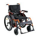 車椅子 電動車椅子 KEY-01(右利き用)折りたたみ 背折れ 自走式 車いす 最新 軽量 おしゃれ 収納簡単 コンパクト 傾斜している路面にも安定 【メーカー