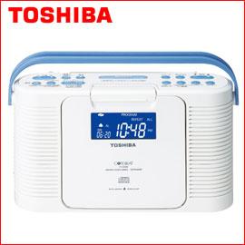 東芝 防水CDクロックラジオ TY-CDB5 TOSHIBA