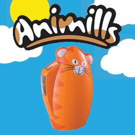 【COLE & MASON コール&メイソン】 Animills アニミルズ ネコ かわいい動物のミル!ペッパー...