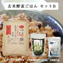 【玄米酵素ごはんセットB(玄米酵素ブレンド500g + 天然...