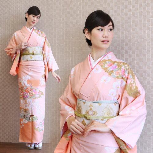 【レンタル】訪問着 レンタル 訪問着フルセットレンタル 安い ピンク 梅 胡蝶蘭 牡丹 卒業式 式典 祝賀会 パーティー 結婚式 袋帯 着物 kimono