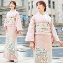 【レンタル】 色留袖 レンタル 結婚式 色留袖 19点フルコーディネートセット ピンク