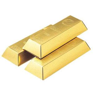金塊チックなティッシュボックスで気分だけでもゴージャスに!ゴールドバーティッシュ 10箱