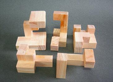 木製 立体パズル リトルキャッスル R60K-L − くた工房