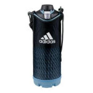 タイガー魔法瓶 ステンレスボトル MME-D12XA ブルー アディダス 1.2L 水筒 スポーツ 人気 かっこいい おしゃれ ポーチ付 ワンプッシュ 保冷専用 直のみ サハラ 大容量 ダイレクト   MME-D12XA