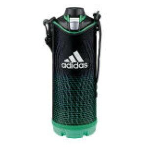 タイガー魔法瓶 ステンレスボトル MME-D12XG グリーン アディダス 1.2L 水筒 スポーツ 人気 かっこいい おしゃれ ポーチ付 ワンプッシュ 保冷専用 直のみ サハラ 大容量 ダイレクト   MME-D12XG