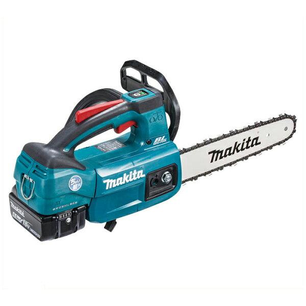 マキタの充電工具 マキタ充電チェーンソー18VMUC254DRGX