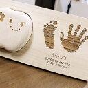 乳歯 ケース 手形 足形 出産祝い 名入れ ≪ティース君&手形・足形メモリアルスタンドセット≫ 乳歯