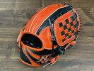 【限定モデル】ハイゴールド軟式一般内野手用OKG−2136SPFオレンジ×ブラック