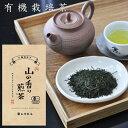 お茶 有機栽培 山の香り煎茶80g×2本 静岡茶 有機茶100%ポスト投函便送料無料