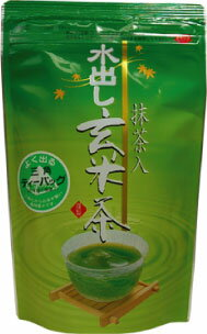 Water out of long-established tea Matcha genmaicha is a convenient and delicious tea! Summer is still cold-not brown rice tea brewed Matcha genmaicha 5 g × 15 (Courier shipping costs this item)