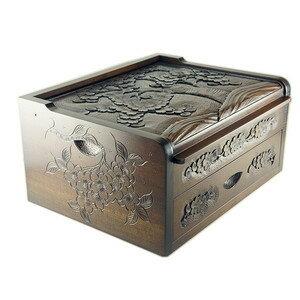 軽井沢彫 手箱
