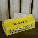 MOON EYES Canvas Tissue Cover【ムーンアイズ ティッシュカバー】即日発送可(遅くとも翌日発送いたします。)【レビューを書いてiphone5/5Sケーブルプレゼント】
