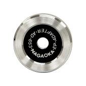 NAGAOKAアナログEP盤用EPアダプターAD-653/2