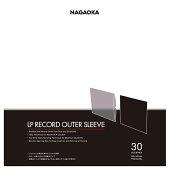 NAGAOKALPレコードジャケットカバーJC30LPLP盤に最適な収納袋厚さ100μ
