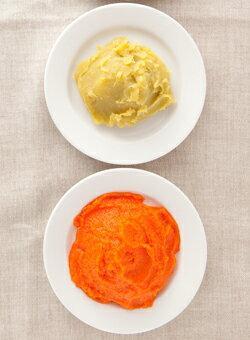 無農薬野菜/プレミアム野菜ペースト2種お試しセットさつま芋ペースト5袋 にんじんペースト5袋【野菜高騰の為値上げさせて頂きました】