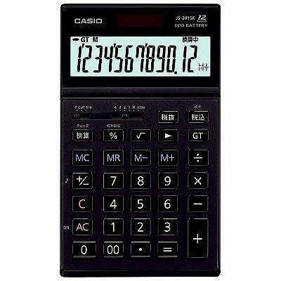 CASIO 本格実務電卓 ゴールド5年保証 JS-201SK