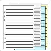 システム リフィル エコノミーメモリーフ カラーアソートメント