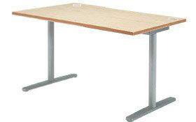 Garage fantoni GL テーブル デスク GL-147H W1400×D710×H720 白木 (ガラージ/ガレージ/ファントーニ/オフィス家具/SOHO/ソーホー/事務所/シンプル/通販ダイニング/店舗/会議用/ミーティング/キッチン/ワーク/パソコン):ナガサワ文具センター