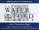 WATER FORD ウォーターフォード水彩紙 ホワイトスケッチブック ブロック綴じ F4サイズ